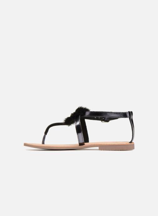 Sandales et nu-pieds Gioseppo Hevafe Noir vue face