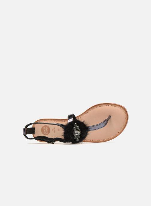 Sandales et nu-pieds Gioseppo Hevafe Noir vue gauche