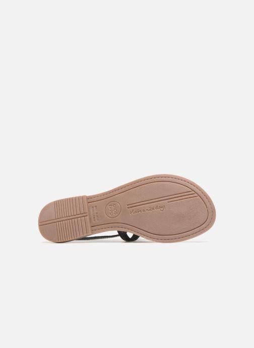 Sandales et nu-pieds Gioseppo Hevafe Noir vue haut
