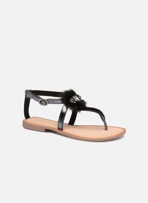 Sandales et nu-pieds Gioseppo Hevafe Noir vue détail/paire