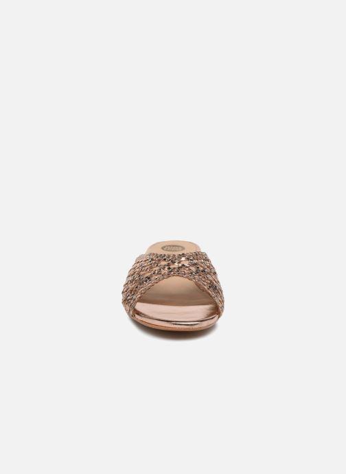 Clogs & Pantoletten Gioseppo Fikowa gold/bronze schuhe getragen
