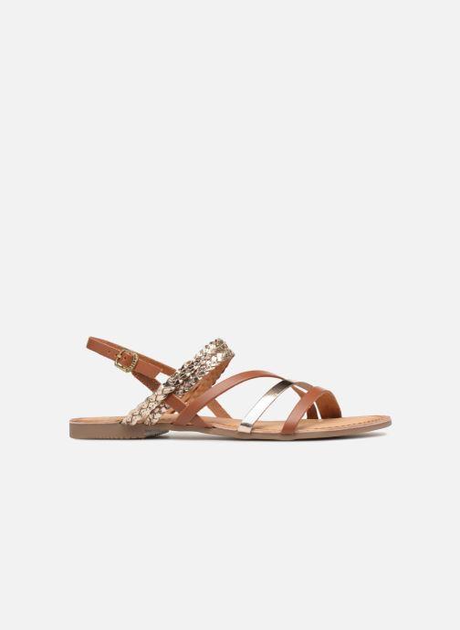 Sandales et nu-pieds Gioseppo Focaze Or et bronze vue derrière