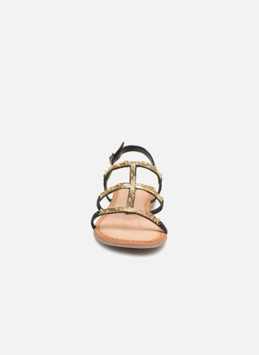 Sandals Gioseppo Gafiro Bronze and Gold model view