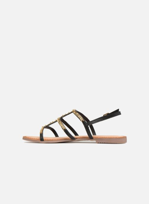 Sandals Gioseppo Gafiro Bronze and Gold front view