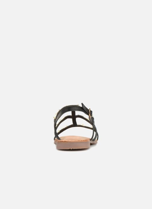 Sandals Gioseppo Gafiro Bronze and Gold view from the right