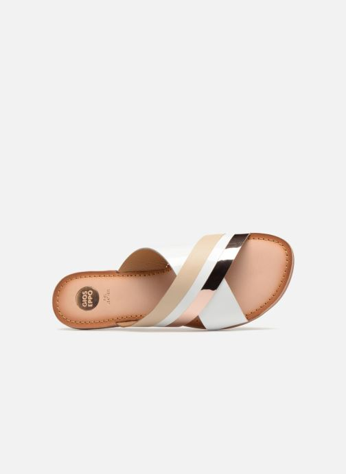 Chaussure Femme Grande Remise Gioseppo Selahu Blanc Mules et sabots 319169