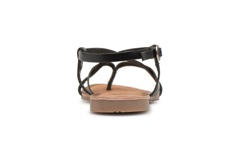 Sandales et nu-pieds Gioseppo Bomuto Noir vue droite