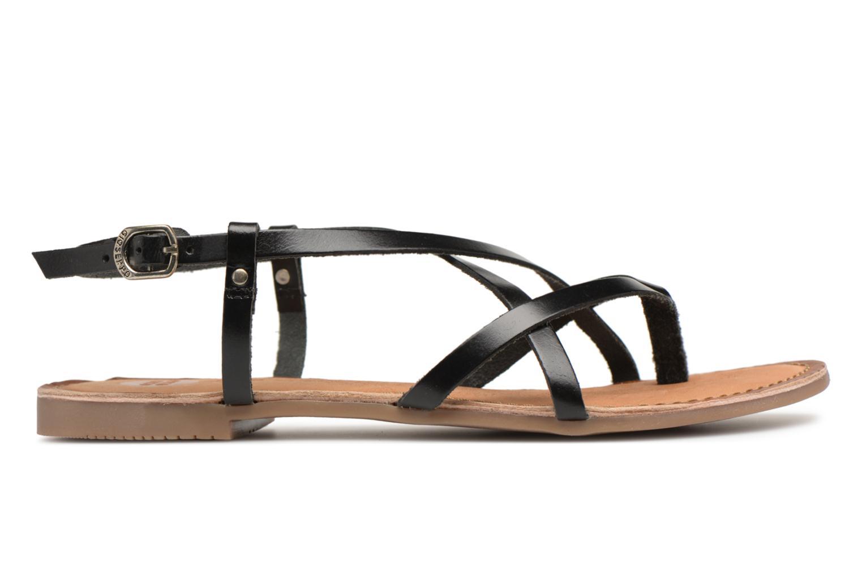 Sandales et nu-pieds Gioseppo Bomuto Noir vue derrière