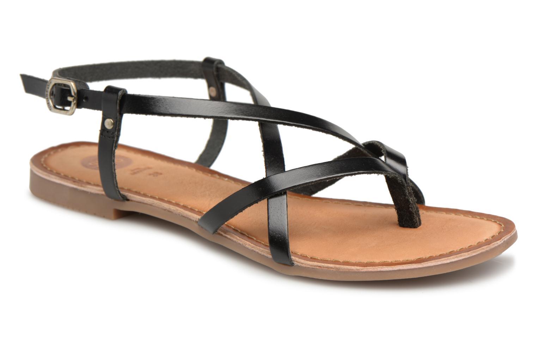 Sandales et nu-pieds Gioseppo Bomuto Noir vue détail/paire