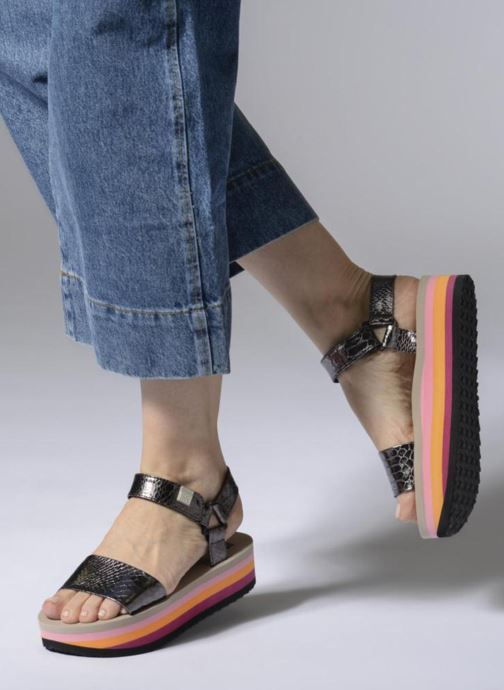 Sandales et nu-pieds Gioseppo Nawebi Or et bronze vue bas / vue portée sac