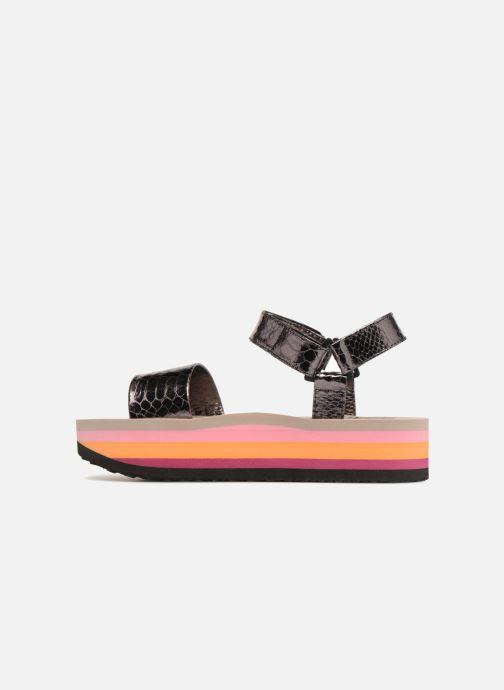 Sandales et nu-pieds Gioseppo Nawebi Or et bronze vue face