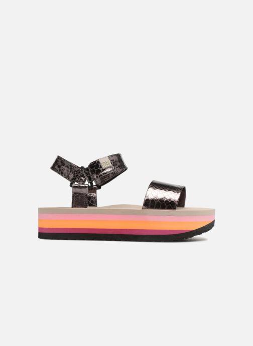 Sandales et nu-pieds Gioseppo Nawebi Or et bronze vue derrière