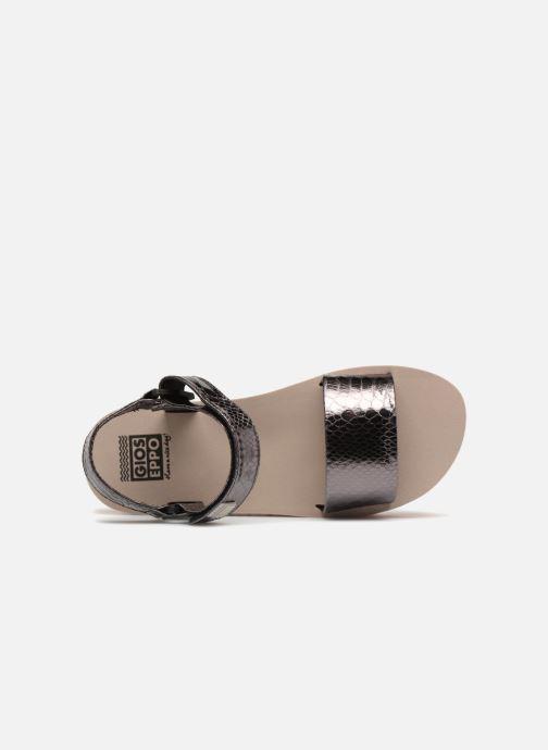 Sandales et nu-pieds Gioseppo Nawebi Or et bronze vue gauche