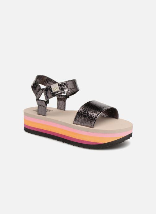 Sandales et nu-pieds Gioseppo Nawebi Or et bronze vue détail/paire