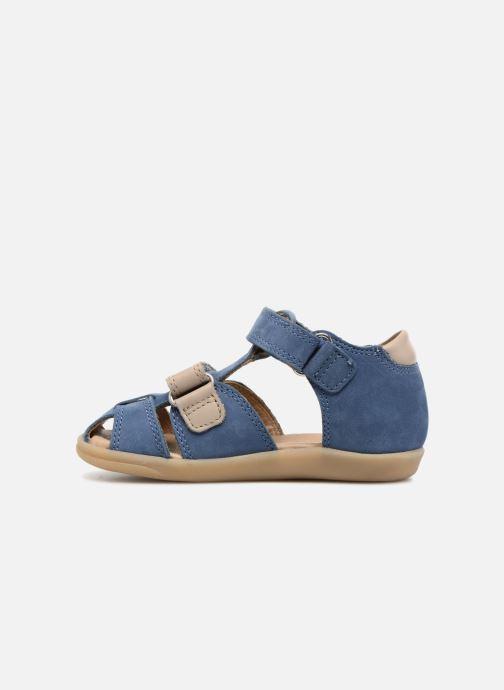 Sandales et nu-pieds Shoo Pom Pika Scratch Bleu vue face