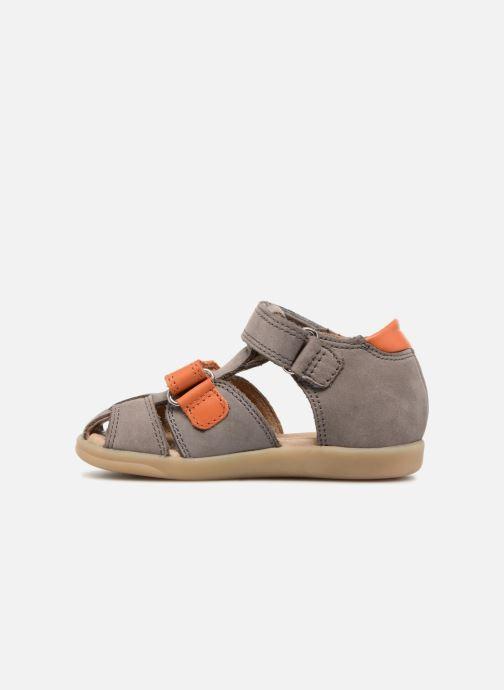 Sandales et nu-pieds Shoo Pom Pika Scratch Gris vue face