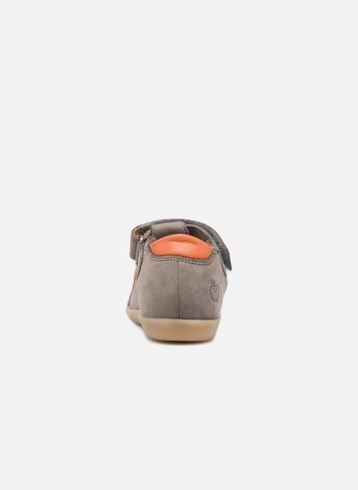 Sandales et nu-pieds Shoo Pom Pika Scratch Gris vue droite