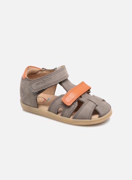 Sandales et nu-pieds Shoo Pom Pika Scratch Gris vue détail/paire