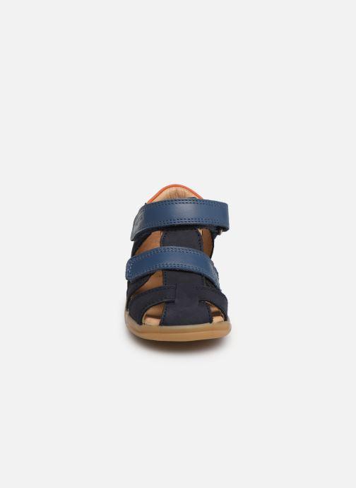 Sandales et nu-pieds Shoo Pom Pika Scratch Bleu vue portées chaussures