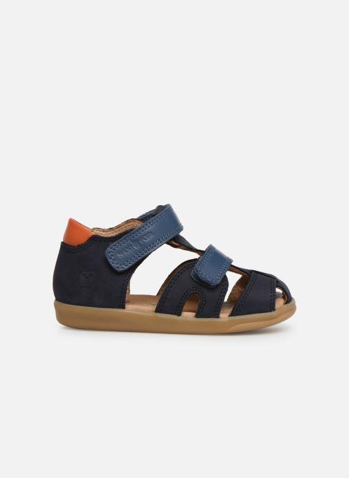 Sandales et nu-pieds Shoo Pom Pika Scratch Bleu vue derrière