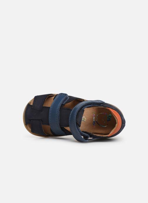 Sandales et nu-pieds Shoo Pom Pika Scratch Bleu vue gauche