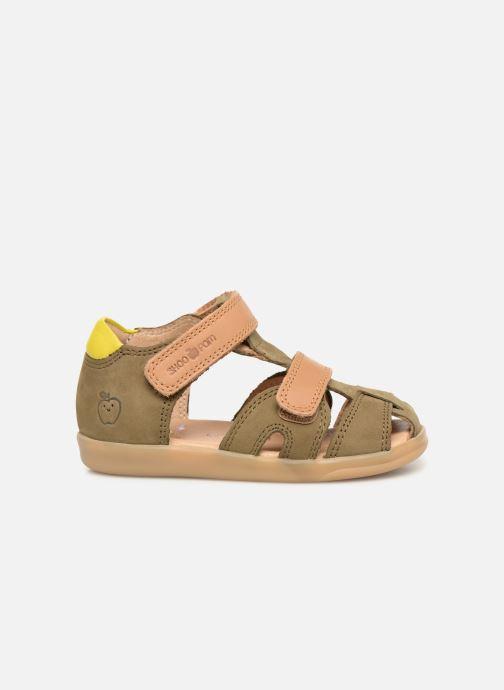 Sandales et nu-pieds Shoo Pom Pika Scratch Vert vue derrière