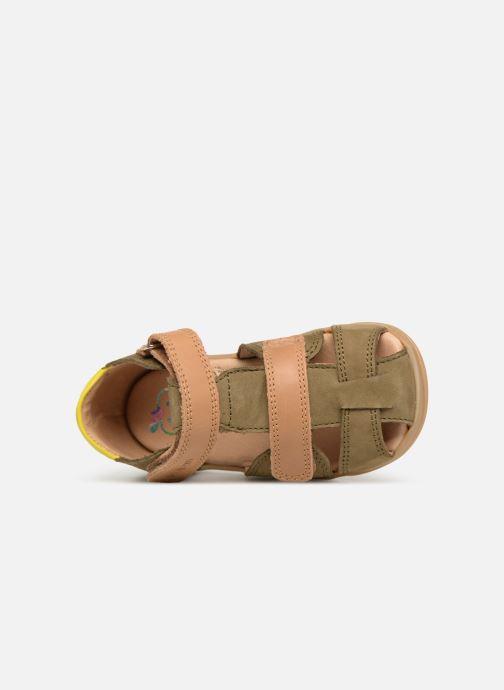 Sandales et nu-pieds Shoo Pom Pika Scratch Vert vue gauche
