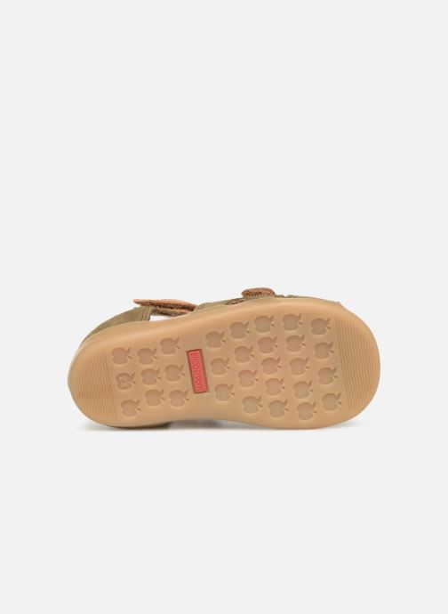 Sandales et nu-pieds Shoo Pom Pika Scratch Vert vue haut
