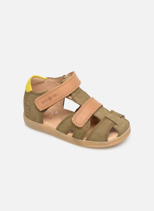 Sandales et nu-pieds Shoo Pom Pika Scratch Vert vue détail/paire
