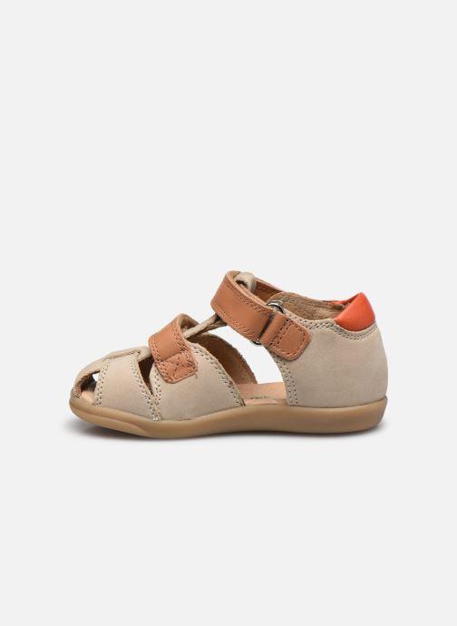 Sandales et nu-pieds Shoo Pom Pika Scratch Beige vue face