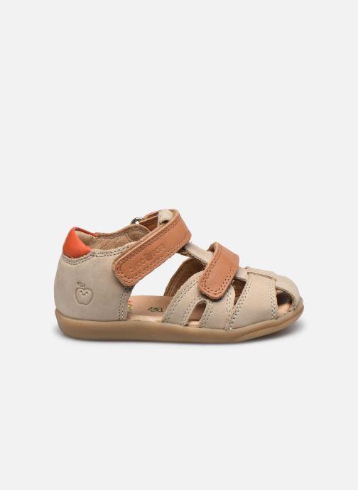 Sandales et nu-pieds Shoo Pom Pika Scratch Beige vue derrière