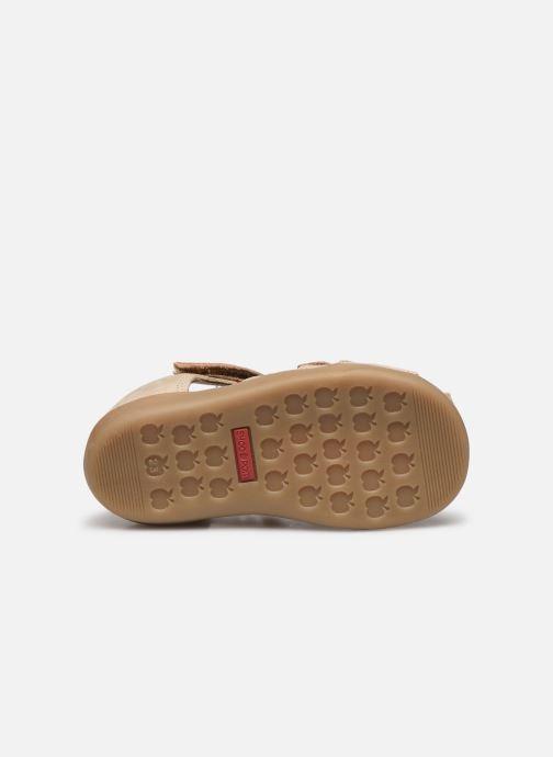 Sandales et nu-pieds Shoo Pom Pika Scratch Beige vue haut