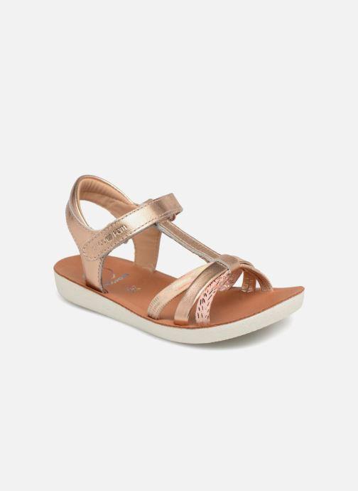 Sandales et nu-pieds Shoo Pom Goa Salome Or et bronze vue détail/paire