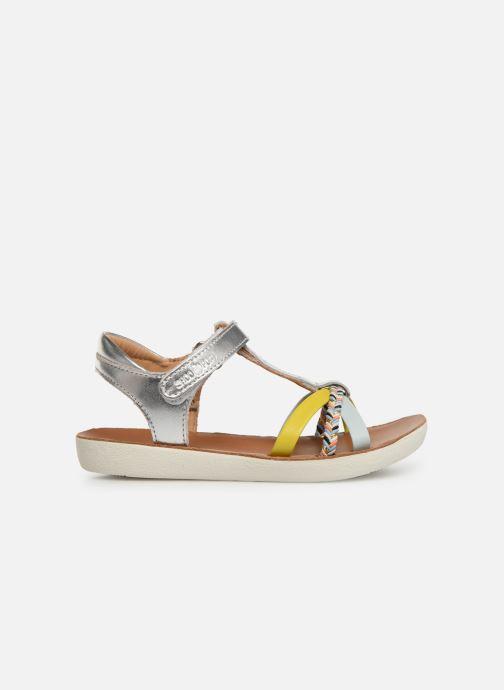 Sandales et nu-pieds Shoo Pom Goa Salome Argent vue derrière