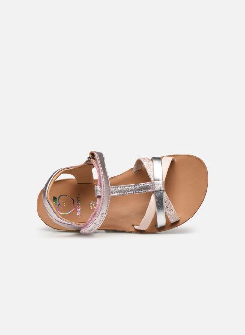 Sandales et nu-pieds Shoo Pom Goa Salome Rose vue gauche