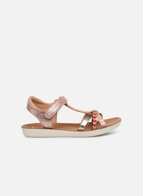 Sandales et nu-pieds Shoo Pom Goa Salome Rose vue derrière