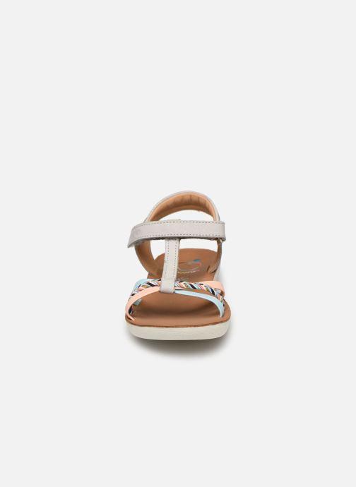 Sandales et nu-pieds Shoo Pom Goa Salome Multicolore vue portées chaussures