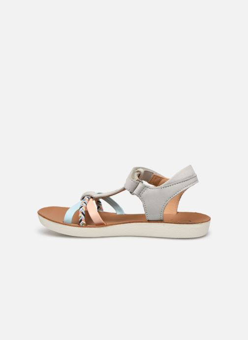 Sandales et nu-pieds Shoo Pom Goa Salome Multicolore vue face