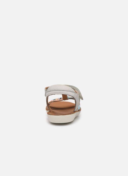 Sandales et nu-pieds Shoo Pom Goa Salome Multicolore vue droite