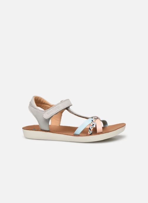 Sandales et nu-pieds Shoo Pom Goa Salome Multicolore vue derrière