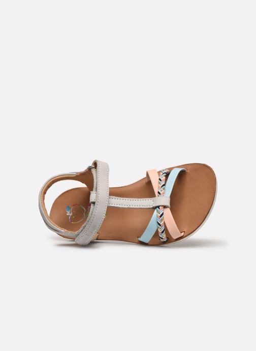 Sandales et nu-pieds Shoo Pom Goa Salome Multicolore vue gauche