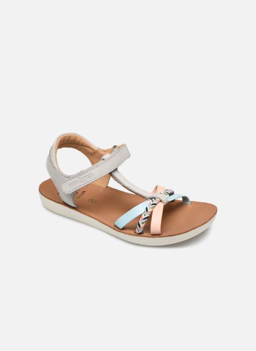 Sandales et nu-pieds Shoo Pom Goa Salome Multicolore vue détail/paire