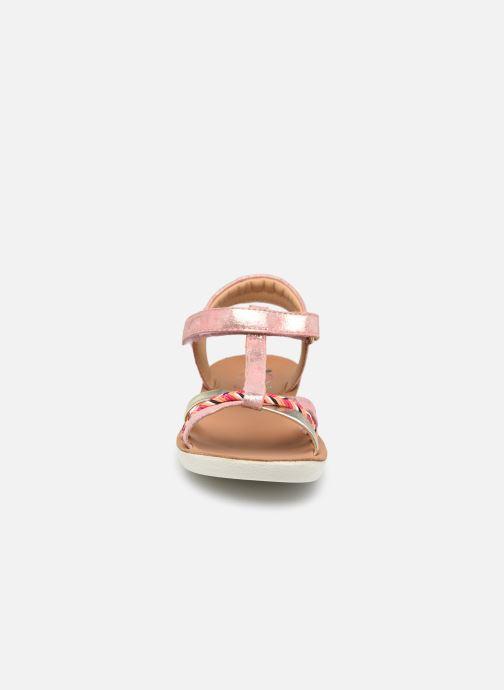 Sandales et nu-pieds Shoo Pom Goa Salome Orange vue portées chaussures