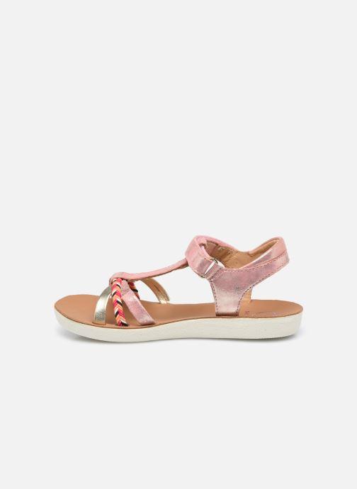 Sandales et nu-pieds Shoo Pom Goa Salome Orange vue face