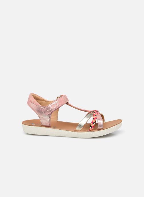 Sandales et nu-pieds Shoo Pom Goa Salome Orange vue derrière