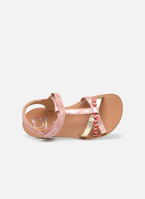 Sandales et nu-pieds Shoo Pom Goa Salome Orange vue gauche