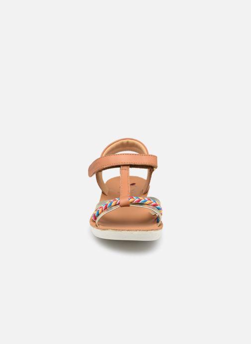 Sandalen Shoo Pom Goa Salome braun schuhe getragen