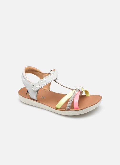 Sandales et nu-pieds Shoo Pom Goa Salome Gris vue détail/paire