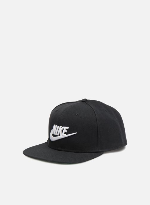 Gorra Nike Pro Cap Futura Negro vista de detalle / par