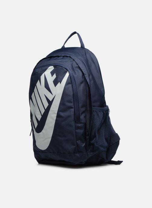 Sacs à dos Nike Nike Sportswear Hayward Futura Backpack Bleu vue portées chaussures